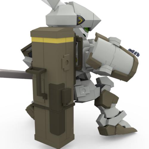 ミサイルランチャー装備