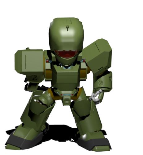 【blender2.82】簡単なロボットを作る ...