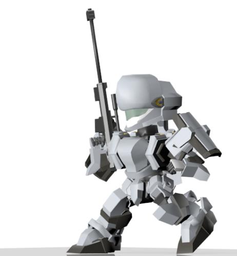 M9・ガーンズバック、ライフル装備
