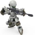 ガーンズバック、アンチマテリアルライフル装備